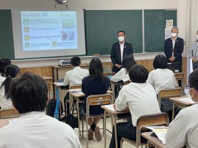 教室での講義